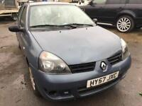 Cheap car of the day, 2007 Renault Clio, starts and drives, very low mileage of 57,000, car located