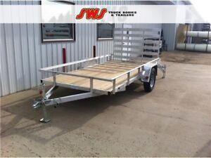 NEW 6X12' Aluminum Trailer