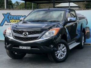 2013 Mazda BT-50 UP0YF1 GT Black Sports Automatic Utility Campbelltown Campbelltown Area Preview