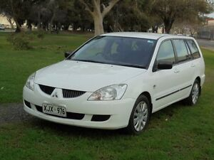 2006 Mitsubishi Lancer CH MY06 ES White 5 Speed Manual Wagon Albert Park Charles Sturt Area Preview