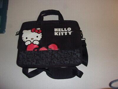 HELLO KITTY PC LAPTOP Notebook Computer BAG CASE with SHOULDER STRAP - Hello Kitty Laptop Bag