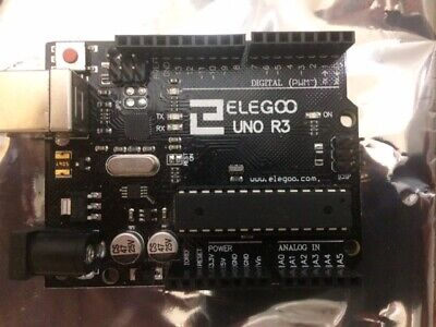 Arduino Uno Rev3 Computer Components Microcontroller With Cable
