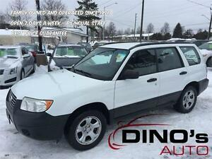 2006 Subaru Forester 2.5X AWD / Be Ready This Winter !!