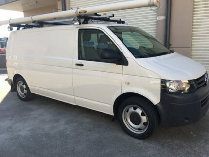 2010 Volkswagen Transporter TDI 400 LWB White Sports Automatic Dual Clutch Van