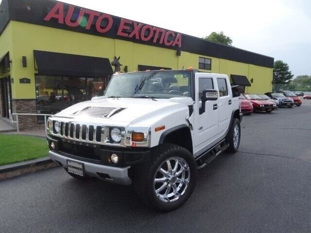 Luxury Convertible Vortec 6.2L V8 393hp 415ft. lbs. Automatic Hummer Birch White