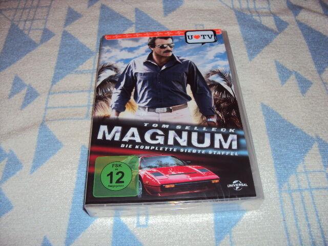 Magnum Season 7 (2016) [6 DVDs] Tom Selleck NEU OVP
