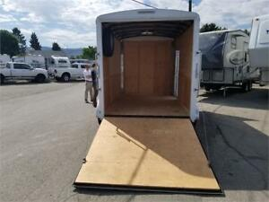 2017 MIRAGE 'TNT - SIDE X SIDE CARGO TRAILER LIKE NEW IN & OUT