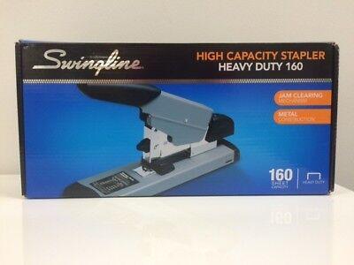 Swingline High-capacity Heavy-duty Stapler Gray Up To 160 Sheets 39005