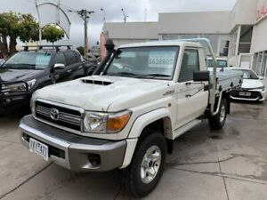 2017 Toyota Landcruiser VDJ79R GXL White 5 Speed Manual Cab Chassis Colac Colac-Otway Area Preview