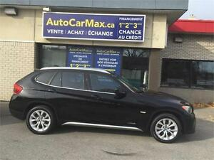 2012 BMW X1 XDRIVE AWD TOIT PANO-TWINTURBO-VÉHICULE COMME NEUF!!