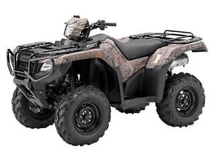 *Like New* Honda 500 Rubicon DCT IRS EPS Camouflage Only $9999!