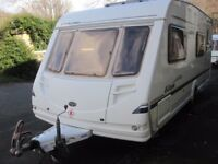 Sterling Europa Rear Fixed Bunk Beds Six Berth Touring Caravan