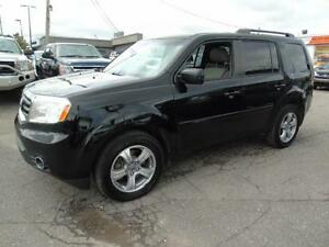 2014 Honda Pilot EX-L 8 PASSENGER LEATHER AWD !!!