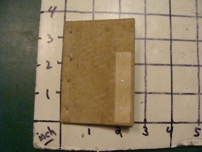 Vintage Original: JAPANESE UNUSED PAPER BOOK for notes, WWII Era hand made paper