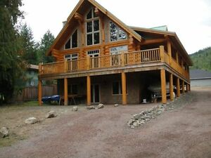 Log Cabin in Shuswap