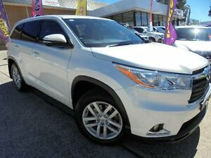 2015 Toyota Kluger GSU50R GX (4x2) White 6 Speed Automatic Wagon Belconnen Belconnen Area Preview