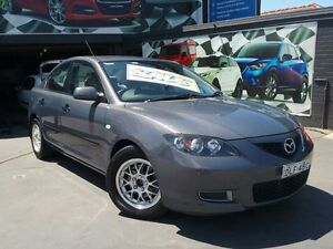 2008 Mazda 3 BK MY06 Upgrade Neo Grey 5 Speed Manual Sedan Greenacre Bankstown Area Preview