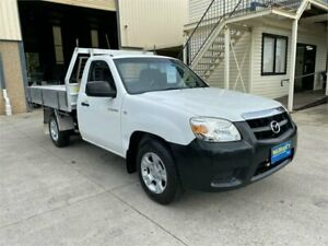2009 Mazda BT-50 UNY0W4 DX 4x2 White 5 Speed Manual Cab Chassis Greystanes Parramatta Area Preview