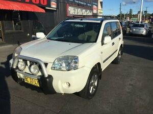 2005 Nissan X-Trail T30 MY04 ST-X Special Edition (4x4) White 5 Speed Manual Wagon Cardiff Lake Macquarie Area Preview