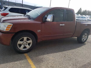 2004 Nissan Titan Pickup Truck - MUST SELL