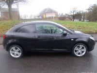 SEAT IBIZA 1.4 SPORT 3d 85 BHP (black) 2009