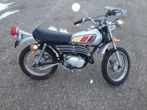 Attention Collectors ! Two 1978 Yamaha GT 80
