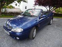 1999 Renault Megane Cabriolet 1.6cc