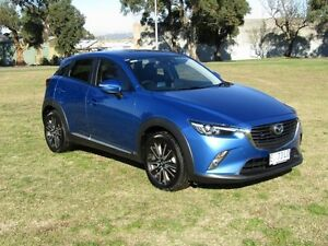 2015 Mazda CX-3 DK Akari (AWD) Blue 6 Speed Automatic Wagon Invermay Launceston Area Preview