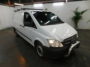 2014 Mercedes-Benz Vito MY14 113CDI SWB White 5 Speed Automatic Van Virginia Brisbane North East Preview