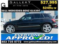 2011 Mercedes GLK 350 4Matic $249 bi-weekly APPLY NOW DRIVE NOW
