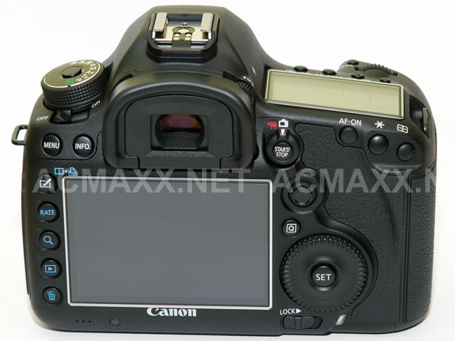 "ACMAXX 3.0"" Wide HARD LCD SCREEN ARMOR PROTECTOR for CANON EOS 6D 6 D DSLR Body"