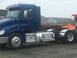 2012 Freightliner Tractor and Dump Trailer Combo