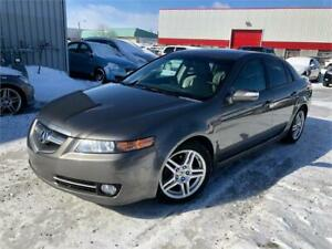 2008 ACURA TL TECH PACKAGE 168,000KM CUIR/TOIT/MAGS/GPS/CAMERA !