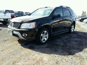 2007 Pontiac Torrent Leather-navigation-Sunroof-roof mounted DVD