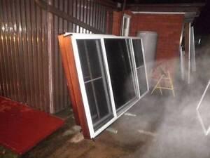 aluminium sliding windows white good used condition Liverpool Liverpool Area Preview