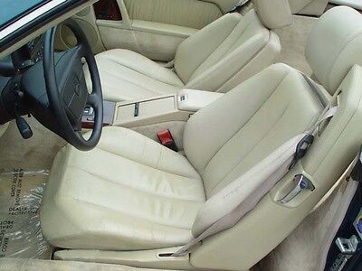 Mercedes Sl R129 300SL 500SL 600SL Leder Vorne Seat Set 1990-95 Sitz Bezüge