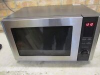 Microwave oven - Used but in good condition and working order, about 1 year old. Sold as seen.
