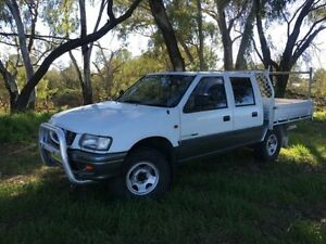 1999 Holden Rodeo TFR9 LT White 4 Speed Automatic Crewcab Coonamble Coonamble Area Preview