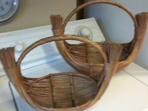 Group of 6 Vintage Baskets London Ontario image 5