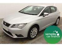 SEAT Leon TDi SE Hatchback 5dr (silver) 2013