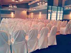 Ivory chair covers Stratford Kitchener Area image 1