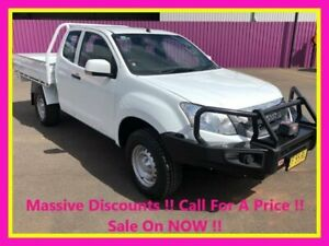2015 Isuzu D-MAX TF MY15 SX (4x4) White 5 Speed Automatic Space Cab Chassis Dubbo Dubbo Area Preview