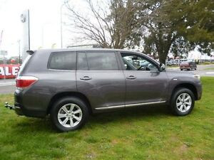 2013 Toyota Kluger GSU45R MY13 Upgrade KX-R (4x4) 5 Seat Grey 5 Speed Automatic Wagon Greenway Tuggeranong Preview