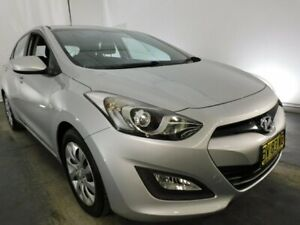 2013 Hyundai i30 GD Active Silver 6 Speed Sports Automatic Hatchback Maryville Newcastle Area Preview