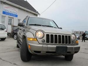 2007 Jeep Liberty Sport V6 3 4X4 Clean carproof Sunroof Leather
