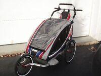 Chariot CX2 avec ski