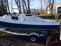 DS 16 Sailboat with Trailer