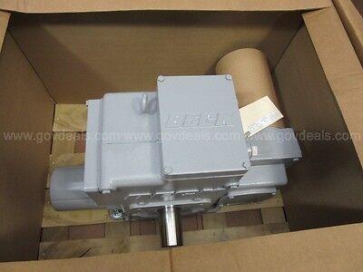 New Beck Electric Rotary Actuator 11-466-132583-01-04 120v 1800 Lb Torque