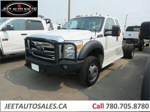 2013 Ford Super Duty F-450 DRW XLT Super Cab & Chassis