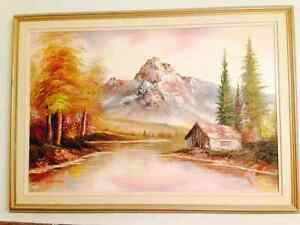 Beautifull Oil 24x36 on Stretched Canvas with Quality Frame